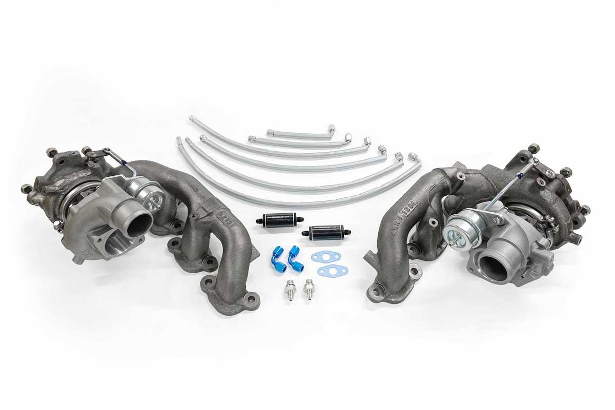 Litchfield Stage 5 – 1000 bhp capable – Garrett G25-660 Standard Manifold Turbo Kit