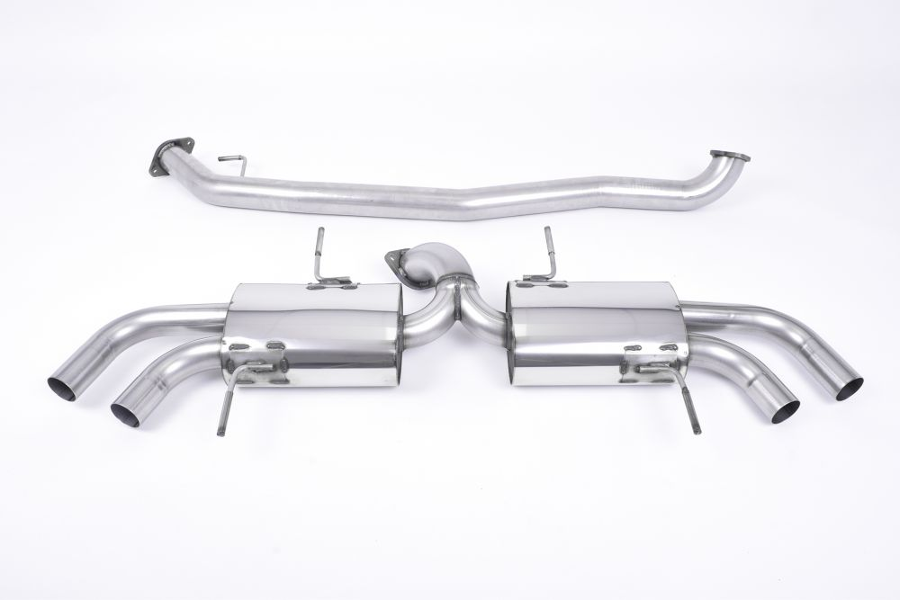 Milltek Non-Resonated Secondary Cat-Back Exhaust System - 76mm (3